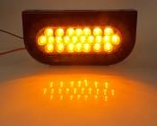 Oval Truck Lamp w/ Bracket-Front