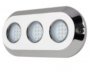 LED Underwater Boat Lights and Dock Lights - Triple Lens - 180W