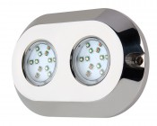 LED Underwater Boat Lights and Dock Lights - RGB Double Lens - 120W (TBD)