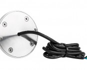 RGB LED Underwater Boat Lights and Dock Lights - Single Lens - 60W: Back View