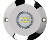 LED Pond Lights And Pool Lights - Single Lens - 60W: Front View