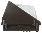 Photocontrol LED Wall Pack - 50W (250W Equivalent) - 5000K/4000K - Up to 6,000 Lumen: Profile View
