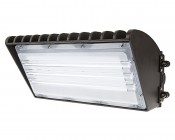 LED Wall Pack - 70W High Power LED - Forward Throw - Cool White