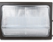 Photocontrol LED Wall Pack - 80W (320W Equivalent) - 5000K/4000K - Up to 10,000 Lumen: Front View