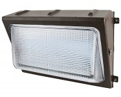 LED Wall Pack - 80W (320W MH Equivalent) - 5000K/4000K - Up to 10,000 Lumens