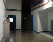 LED Retrofit Kit for 320W MH Fixtures: Shown Installed In Wall Pack