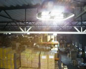 Modular LED High Bay Light - 150W: Installed In Warehouse