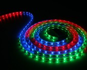 Programmable RGB waterproof flexible LED strip