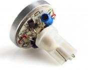 4 High Power Warm White LED T10 Wedge Base Bulb