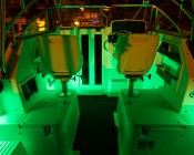 194 LED Bulb  installed as accent lights on boat