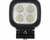"LED Work Light - 4"" Square - 40W - 4,000 Lumens: Front View"