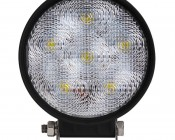 "LED Work Light - 4.5"" Round - 18W: Front View"
