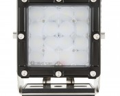 """LED Work Light - 5.5"""" Square Work Light w/ Heavy Duty Vibration Resistant Mount and Combo Beam - 80W - 5600 Lumens: Front View."""