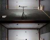 "LED Work Light - 6"" - Rectangular - 24W: Shown On In 30° Beam Pattern (Bottom) And 60°Beam Pattern (Top)."