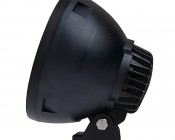 """7"""" Round 45W Heavy Duty High Powered LED Work Light: Profile View"""