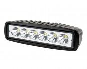 "LED Work Light - 6"" Rectangle - 17W"