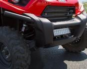54 Watt Off Road LED Light Bar Attached To ATV / UTV