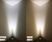 LED Pond Light/Fountain Light - Single Color - 6 Watt: Showing Color Temperature -Natural White & Warm White