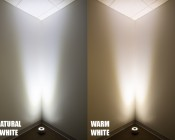 LED Pond Light/Fountain Light - Single Color - 9 Watt: Showing Color Temperature -Natural White & Warm White