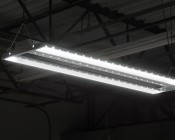 100W LED Linear High Bay Light - 3-Lamp T5HO/5-Lamp T8 Equivalent - 13,600 Lumens - 5000K - Illuminated