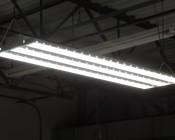150W LED Linear High Bay Light - 4-Lamp T5HO/7-Lamp T8 Equivalent - 19,650 Lumens - 5000K - Illuminated
