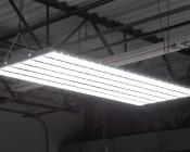 300W LED Linear High Bay Light - 8-Lamp T5HO/14-Lamp T8 Equivalent - 41,400 Lumens - 5000K - Illuminated