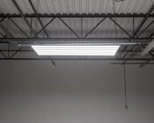 250W LED Linear High Bay Light - 7-Lamp T5HO/11-Lamp T8 Equivalent - 33,500 Lumens - 5000K - Illuminated Profile View