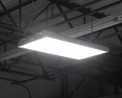 80W LED Linear High Bay Light - 5-Lamp F24T5HO/7-Lamp F17T8 Equivalent - 10,400 Lumens - 5000K 2x1