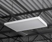 80W LED Linear High Bay Light - 5-Lamp F24T5HO/7-Lamp F17T8 Equivalent - 10,400 Lumens - 5000K - 2x1