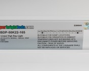 165W LED Linear High Bay Light - 11-Lamp F24T5HO/15-Lamp F17T8 Equivalent - 21,500 Lumens - 5000K - 2x2