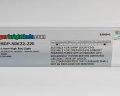 220W LED Linear High Bay Light - 15-Lamp F24T5HO/21-Lamp F17T8 Equivalent - 29,000 Lumens - 5000K - 2x2
