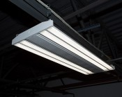 200W Linear LED High Bay Light Fixture - Troffer-Style LED Light w/ Suspension Cables - 26,000 Lumens