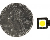 Little Dot SMD LED Accent Light: Top View With Size Comparison