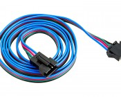 LC4 Locking Connector Power Cable Extension: 1 Meter