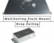 LED Skylight w/ Balloon 3 Skylens® - 2x4 Dimmable LED Panel Light - Flush Mount/Drop Ceiling Recessed Moun: Accessories
