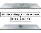 LED Skylight w/ Balloon 3 Skylens® - 2x4 Dimmable LED Panel Light - Flush Mount/Drop Ceiling Recessed Moun: Difference Between Flush Mount and Drop Ceiling