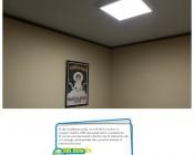 LED Panel Light Ceiling Frame Kit: Installation How To.
