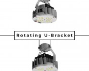 LED Retrofit Kit for 320W MH Fixtures - 7,500 Lumens: Rotating Feature Highlighted