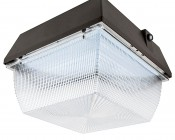 Photocontrol LED Canopy Light and Parking Garage Light - 100W - Natural White