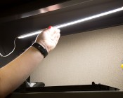 """Linkable LED Under Cabinet Light Bar - Seamless Connection - 20"""" - 675 Lumens: Magnetic Surface"""