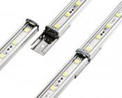 LBFA-BC1 LuxBar Bar to Bar Back Clip: Connects To Any Size LuxBar Light Bar