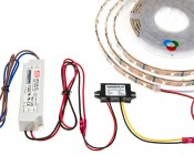 12V to 5V Static Power Converter needed to convert 12V power supplies to 5V for Dream Color Led Light Strips
