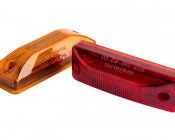 M1 series LED Marker Lamp: Available In Red & Amber