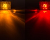 M10PC series Stud Mounted Marker Lamp Available in Amber and Red