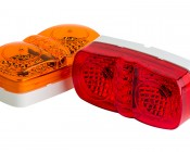 M12PC series Double Bulls Eye Marker: Available In Red & Amber