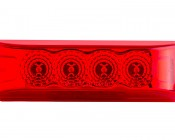 M2-xHP4 series LED Marker Lamp: Front View