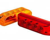 M2-xHP4 series LED Marker Lamp: Available In Red & Amber