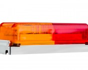 M2 series Trailer Fender LED Marker Lamp: Attached To Chrome Bezel Needed For Mounting (not included)