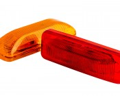 M2PC series LED Marker Lamp: Available In Red & Amber