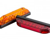 M3 series LED Marker Lamp: Available In Red & Amber